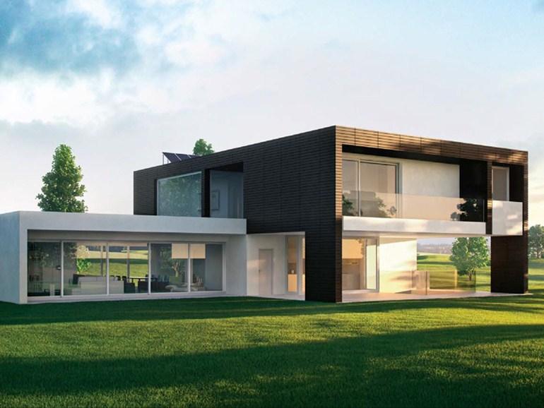 Idee per arredare la zona giorno della vostra casa in legno ...