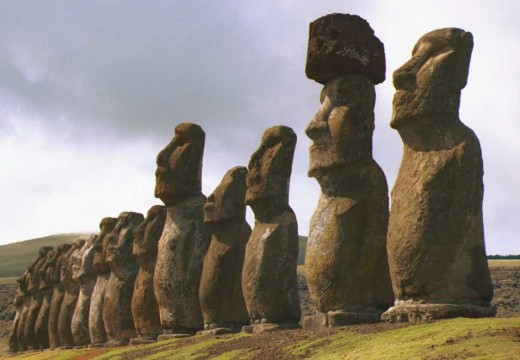 Il mistero dell'Isola di Pasqua e dei Moai