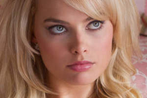 Margot Robbie in The Wolf of Wall Street.