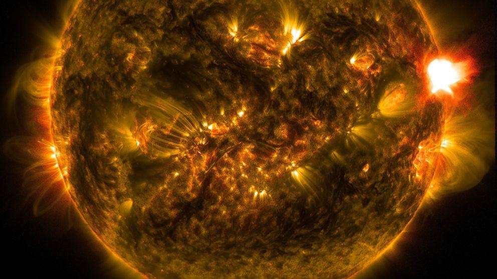 L'apocalisse sulla Terra: i brillamenti solari